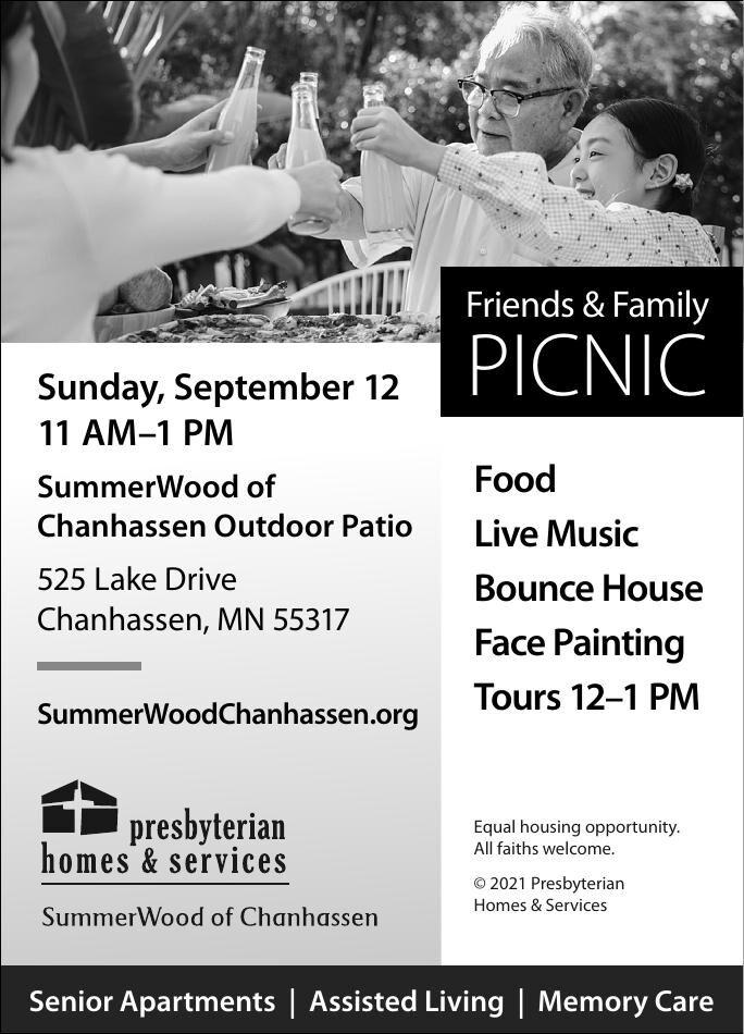 Friends & Family Sunday, September 12