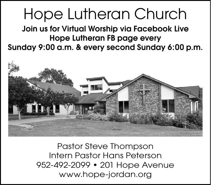 Hope Lutheran Church Join us for