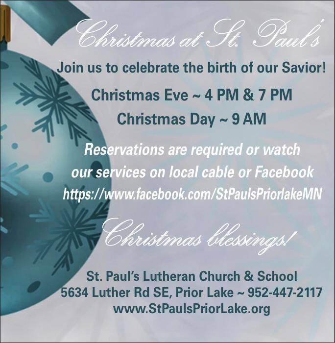 Christmas at St. Paul's Join us to