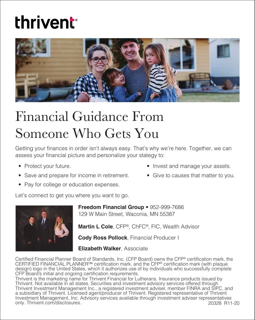 Financial Guidance From Someone Who