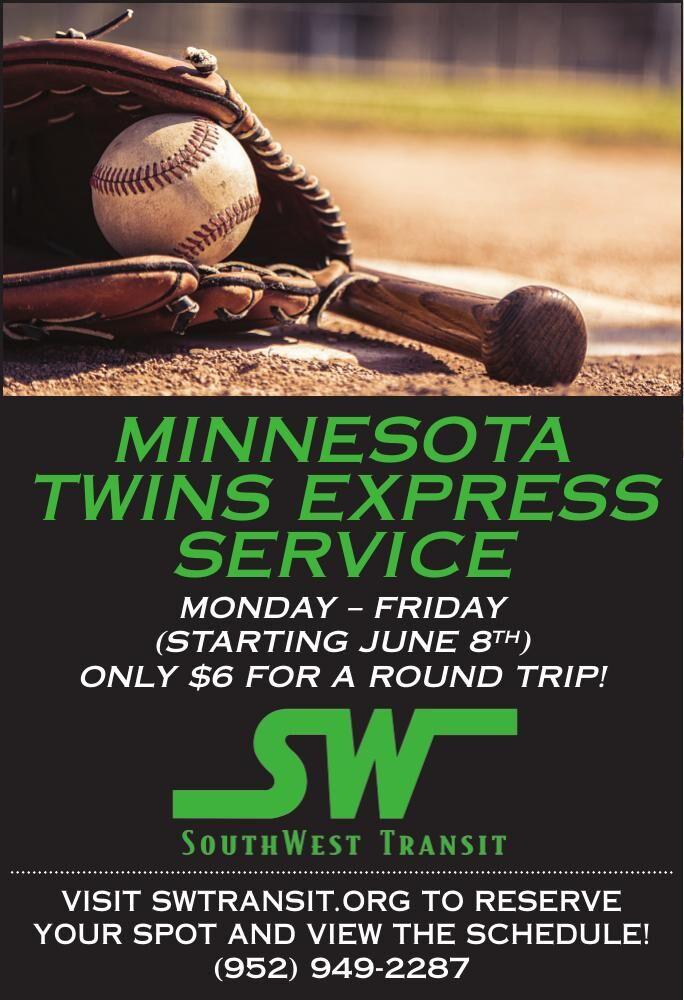 Minnesota twins express service Monday