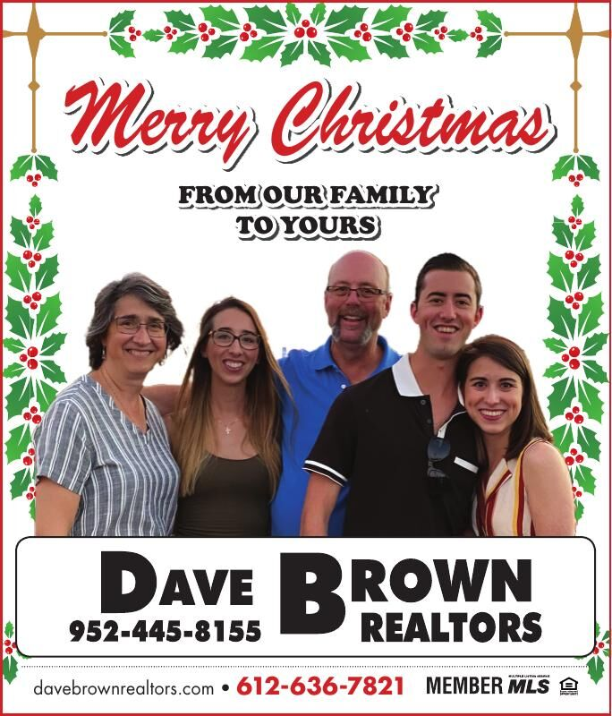 Merry Christmas from our family to