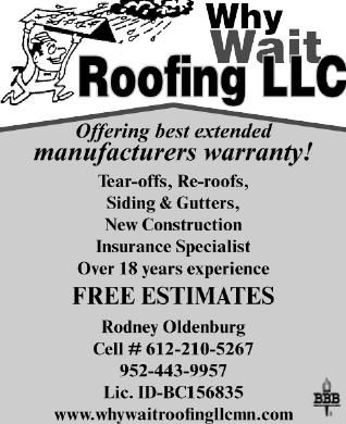 Why Wait Roofing