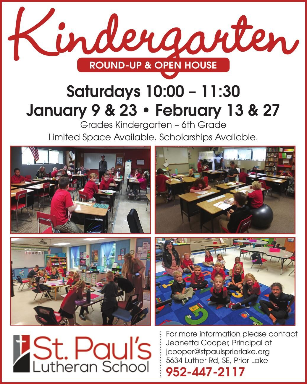 Kindergarten Round-up & open HouSe