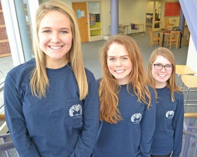 Hailey, Meghan, Julia