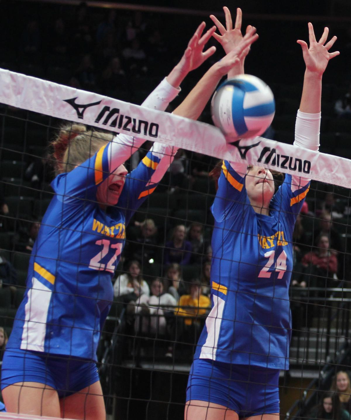 Wayzata Volleyball - Block