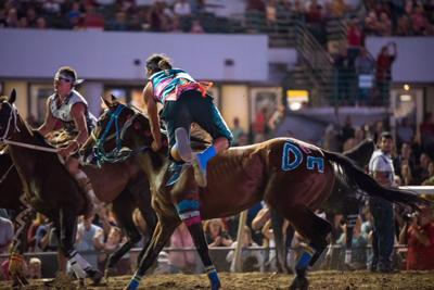 Indian Horse Relay rider exchange