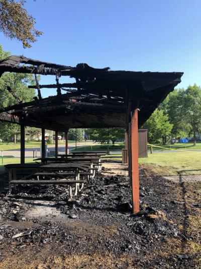 Sunset Hills Park fire