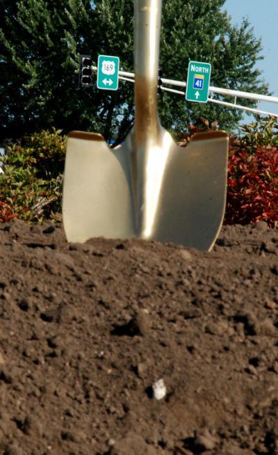 Golden shovel; ground breaking; breaking ground