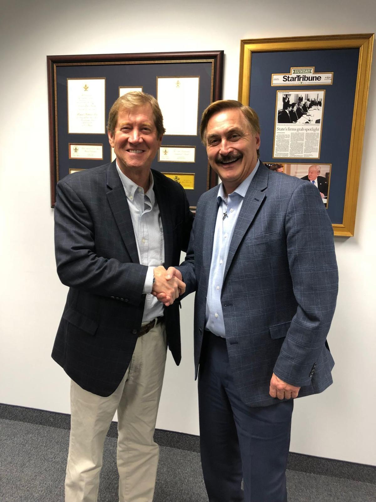 Mike Lindell and Jason Lewis