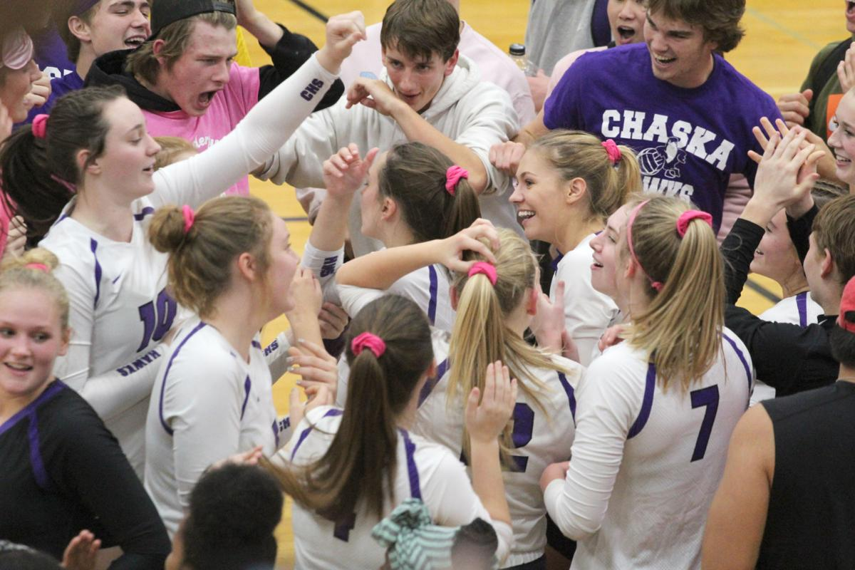Chaska Volleyball - Celebration