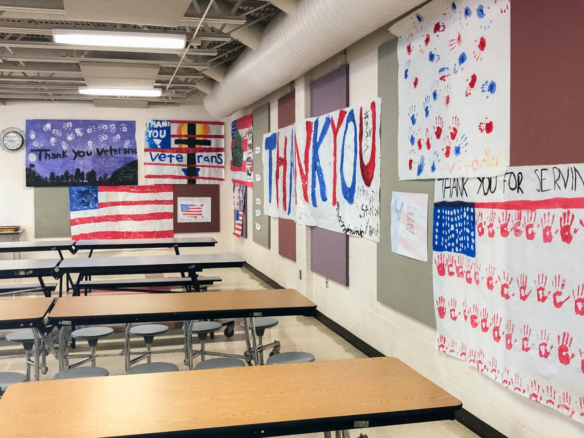 St. Mike's Veterans Day posters