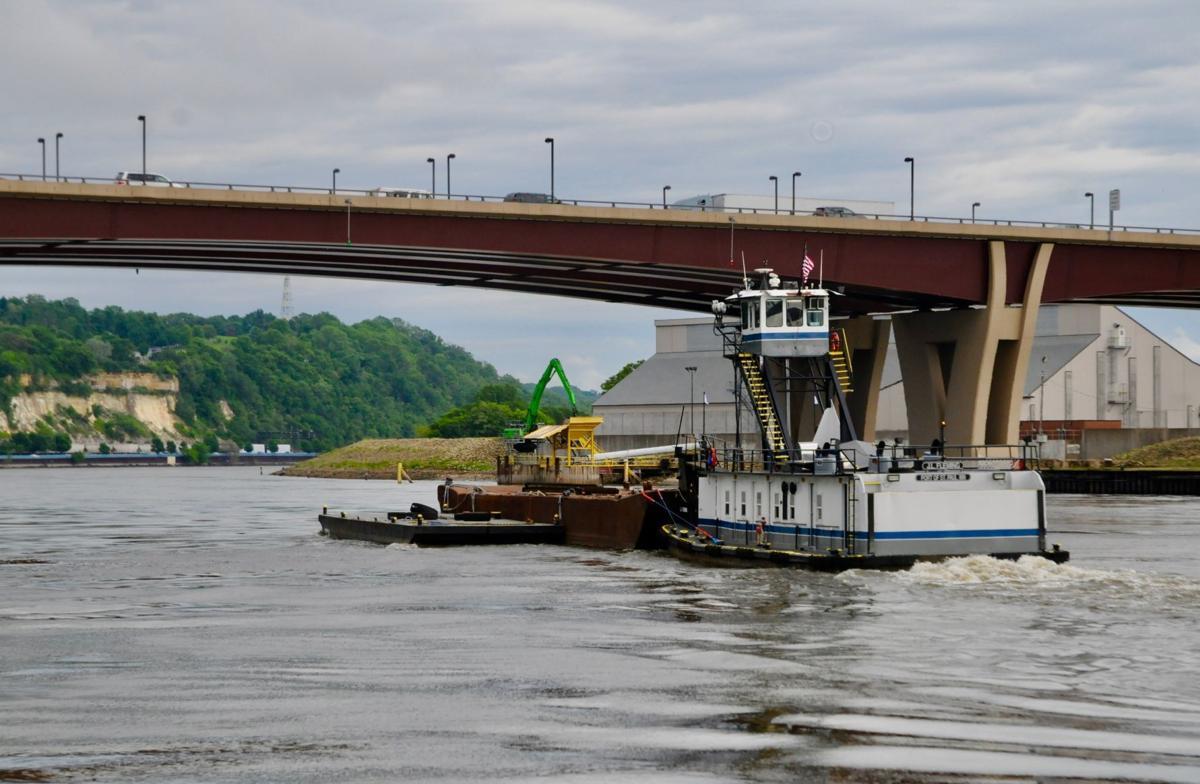 J.L Fleming Tow Boat
