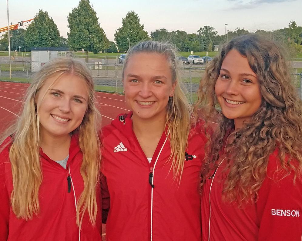 2019 EPHS girls cross-country captains