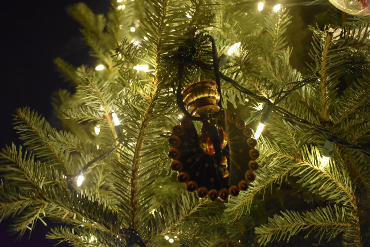 Sharing Tree 2 - peacock ornament