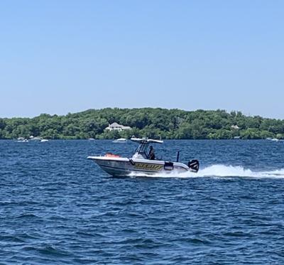 Hennepin County  Sheriff's Office Water Patrol boat