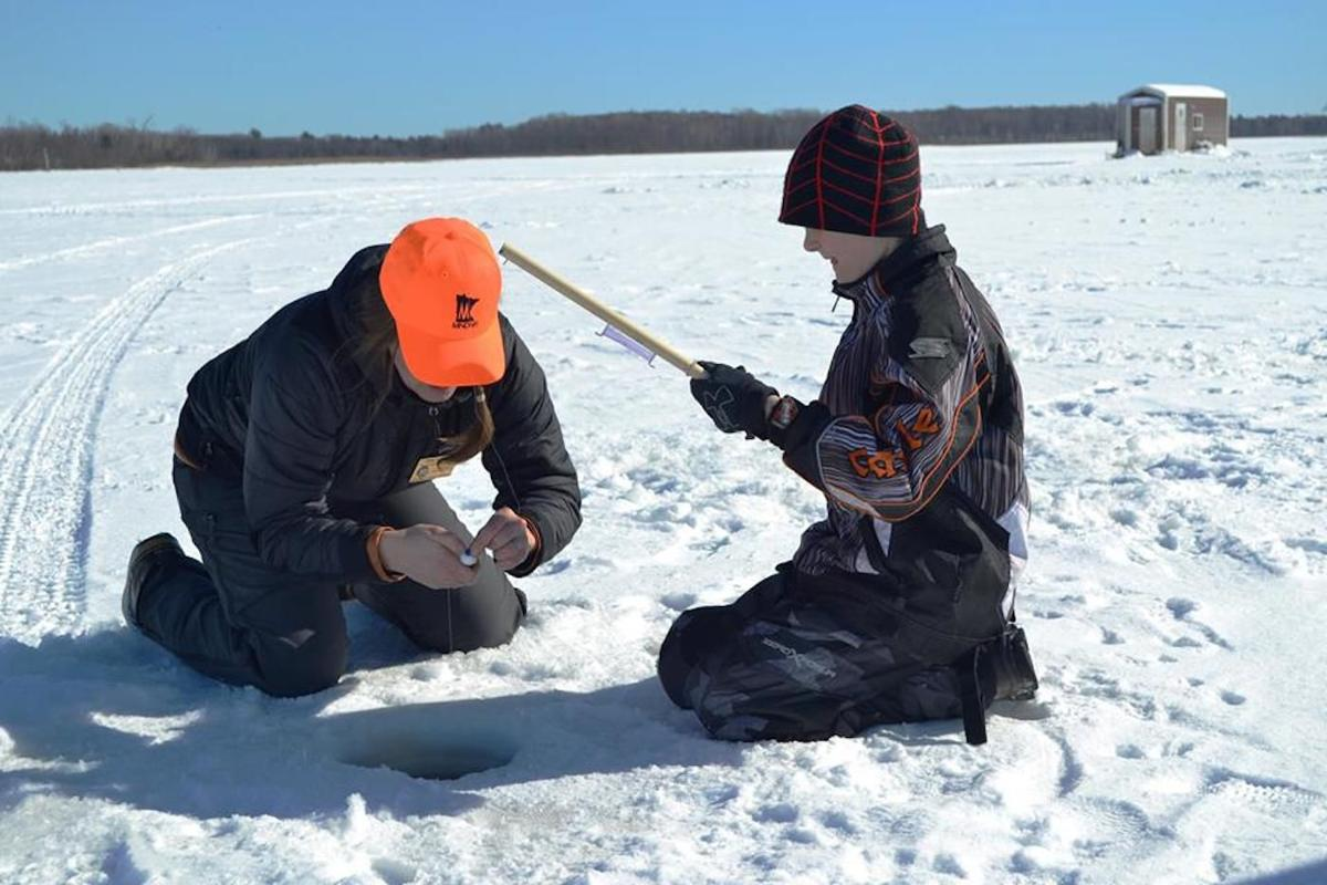 Quarry lake opening for ice fishing jan 14 local for Quarry lakes fishing