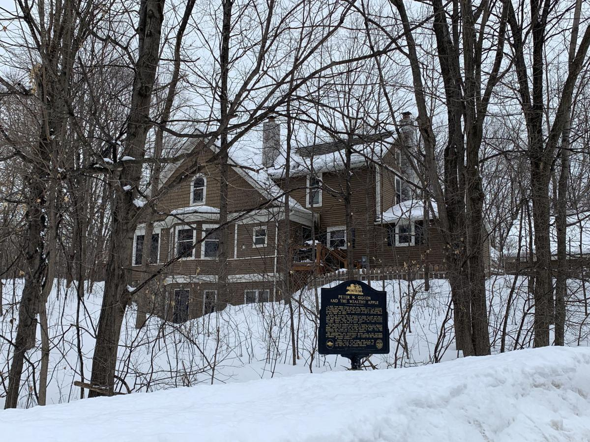 Peter Gideon house in Shorewood