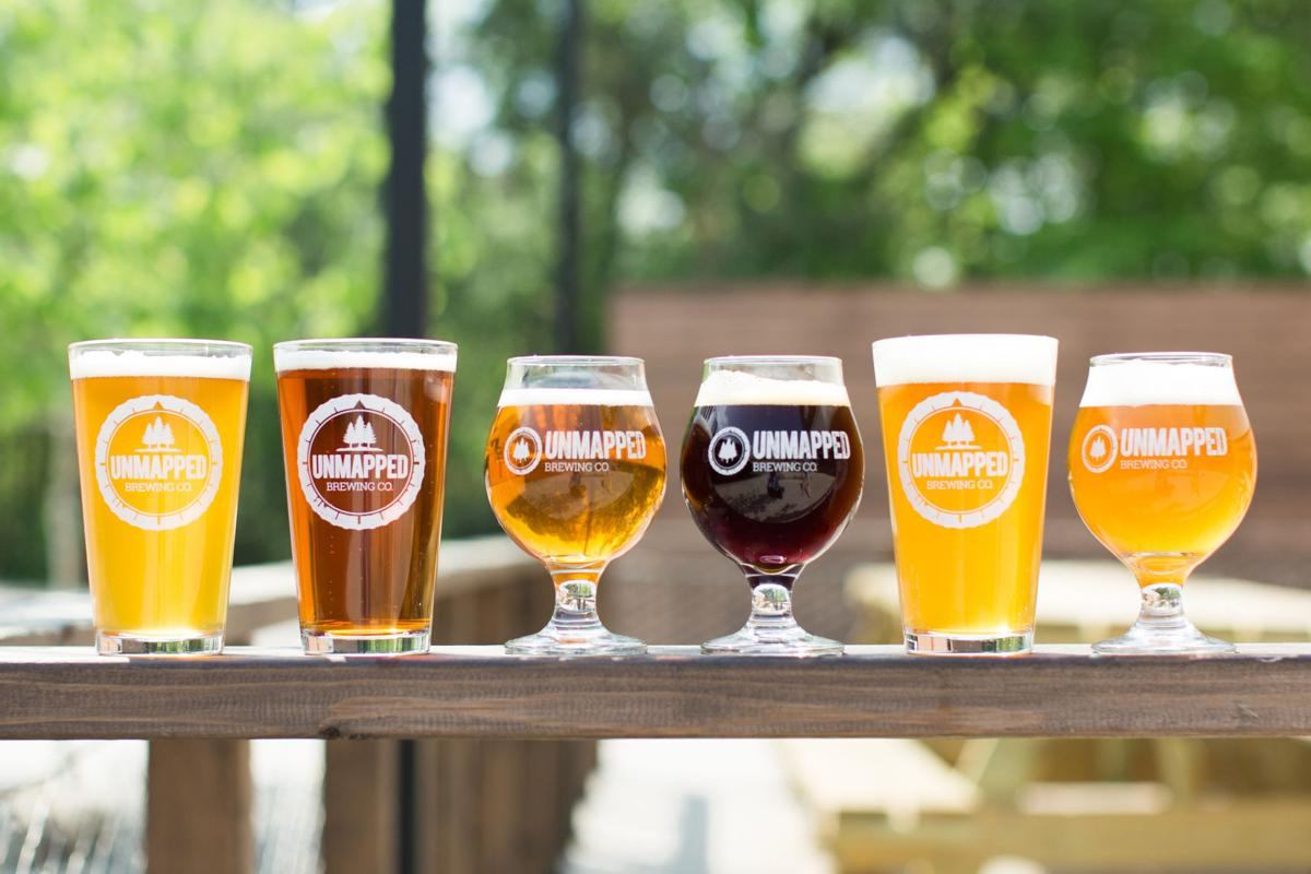 Unmapped Brewing - Beer Selection