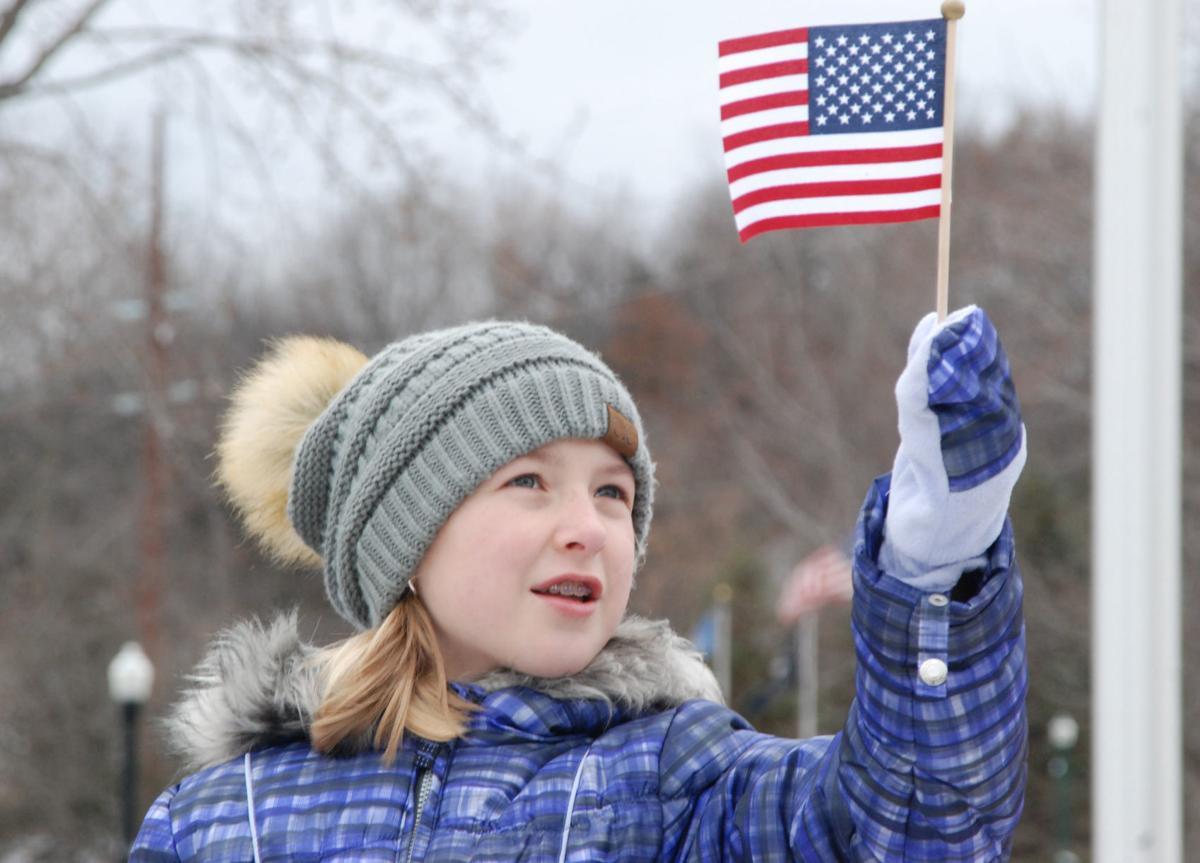 Veterans Park Dedication Ceremony