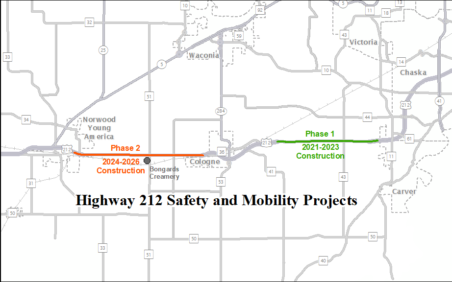 Highway 212 Safety and Mobility Projects