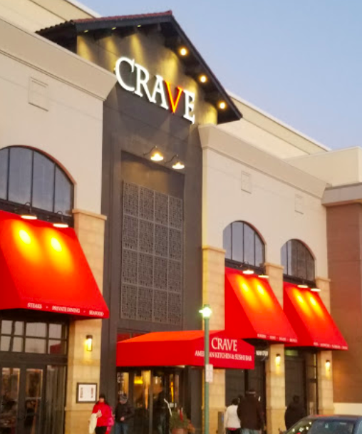 Crave American Kitchen & Sushi Bar - exterior