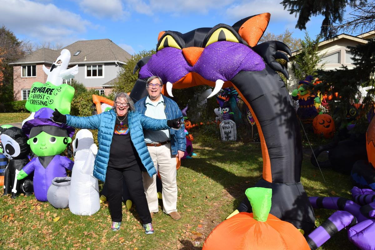 More Is More Nearly 100 Inflatable Halloween Decorations