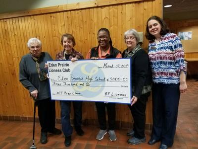 Lioness club donation