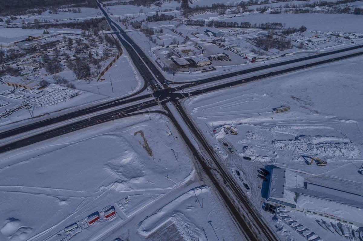 Highway 169/41/78 interchange construction ramps up (copy