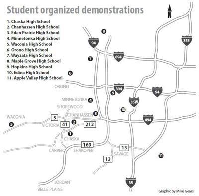 Student organized demonstrations