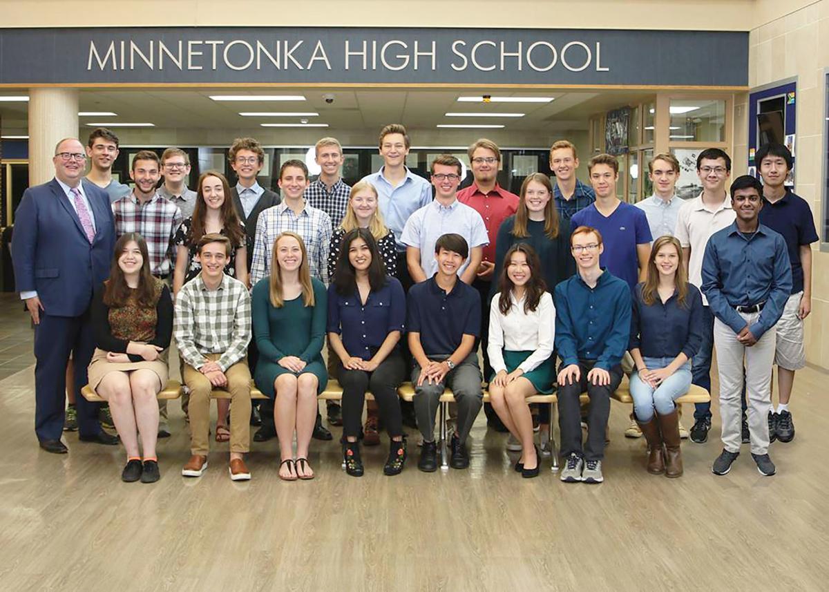 Minnetonka High School has 26 National Merit Scholarship
