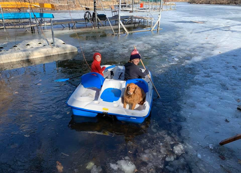 Emily Uelemen paddle boat 5