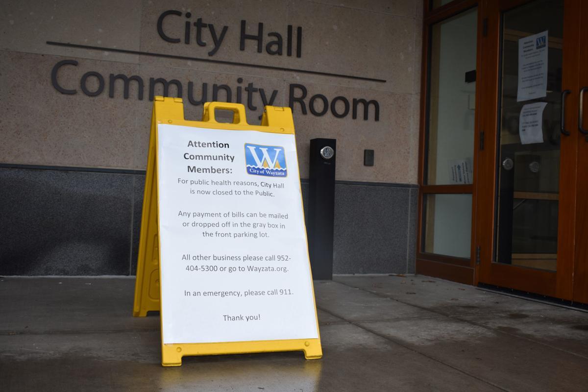 Wayzata City Hall - coronavirus