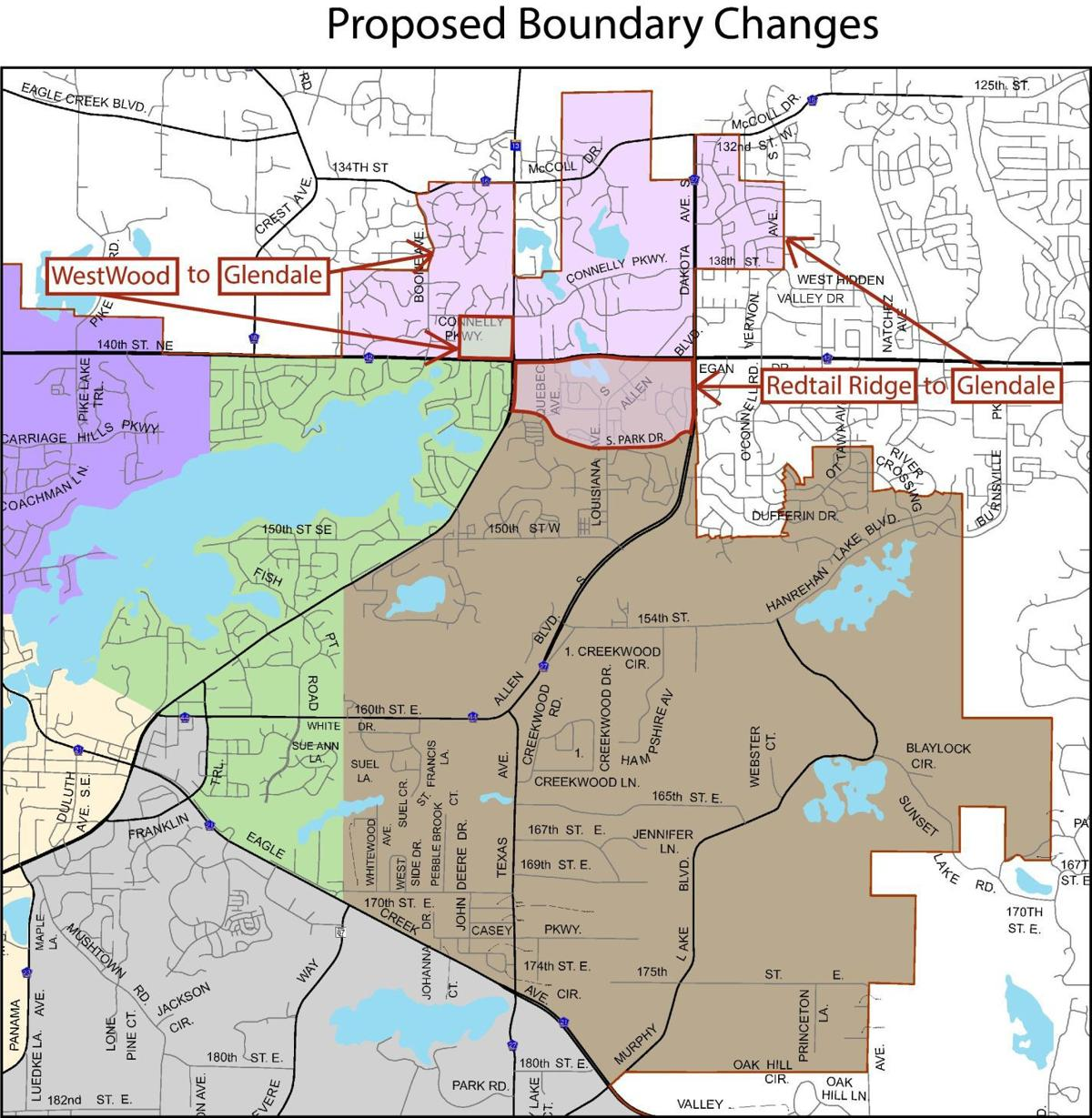 map of prior lake mn Prior Lake Savage Area Schools Approve Temporary Elementary map of prior lake mn