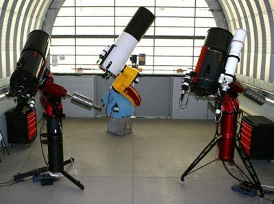Observatory telescopes