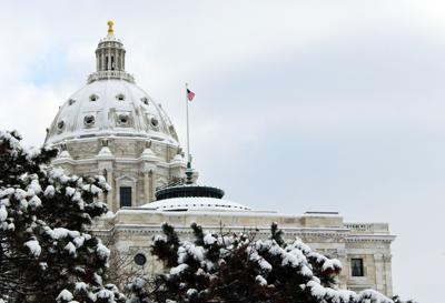 Minnesota Capitol in Winter