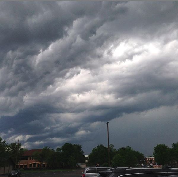 Storm rolls through Wayzata