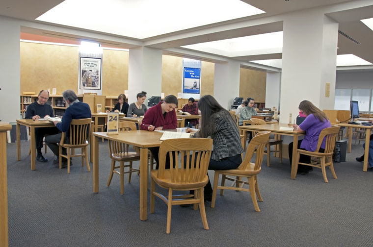 Gale Family Library Weyerhaeuser Reading Room