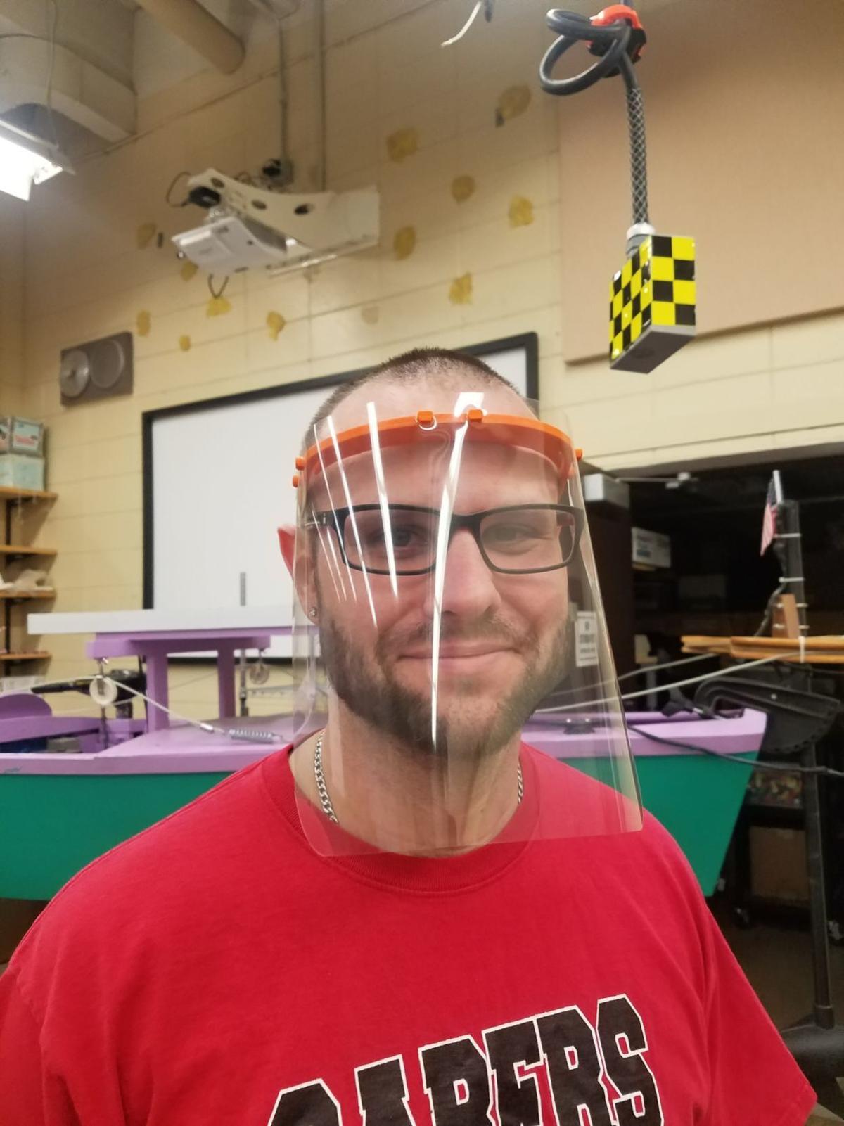 Shakopee West Middle School Face Shields