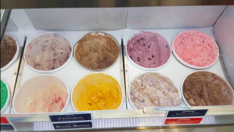The Social Ice Cream Parlor - ice cream flavors