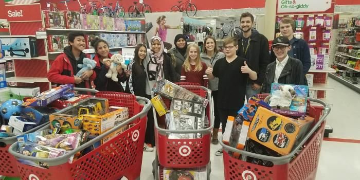 Students Raise Money Collect Supplies To Help People In Need Savage Pacer Swnewsmedia Com