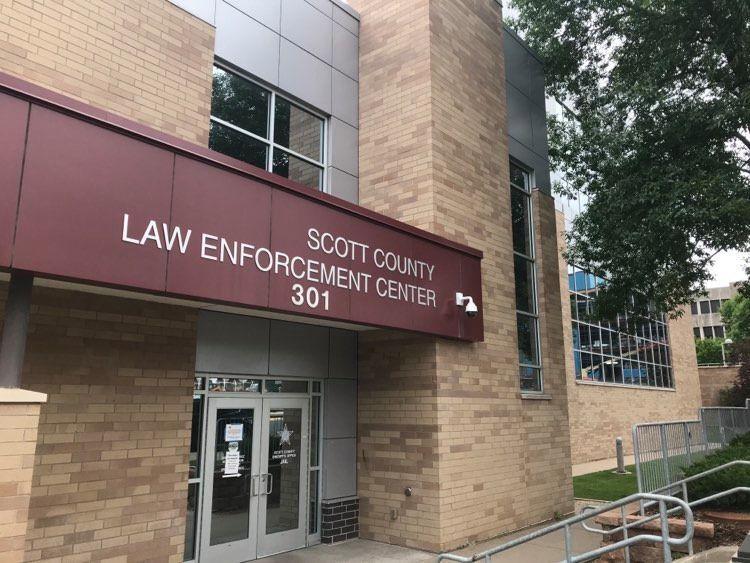 Scott County jail exterior