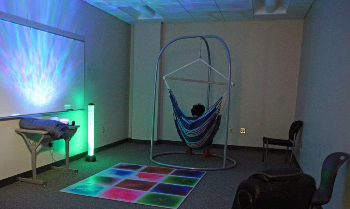 Chanhassen High School sensory room