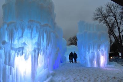 Ice Castles Excelsior entrance