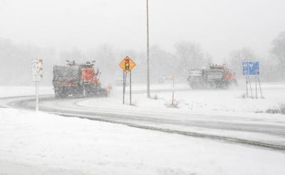 MnDOT snow plows