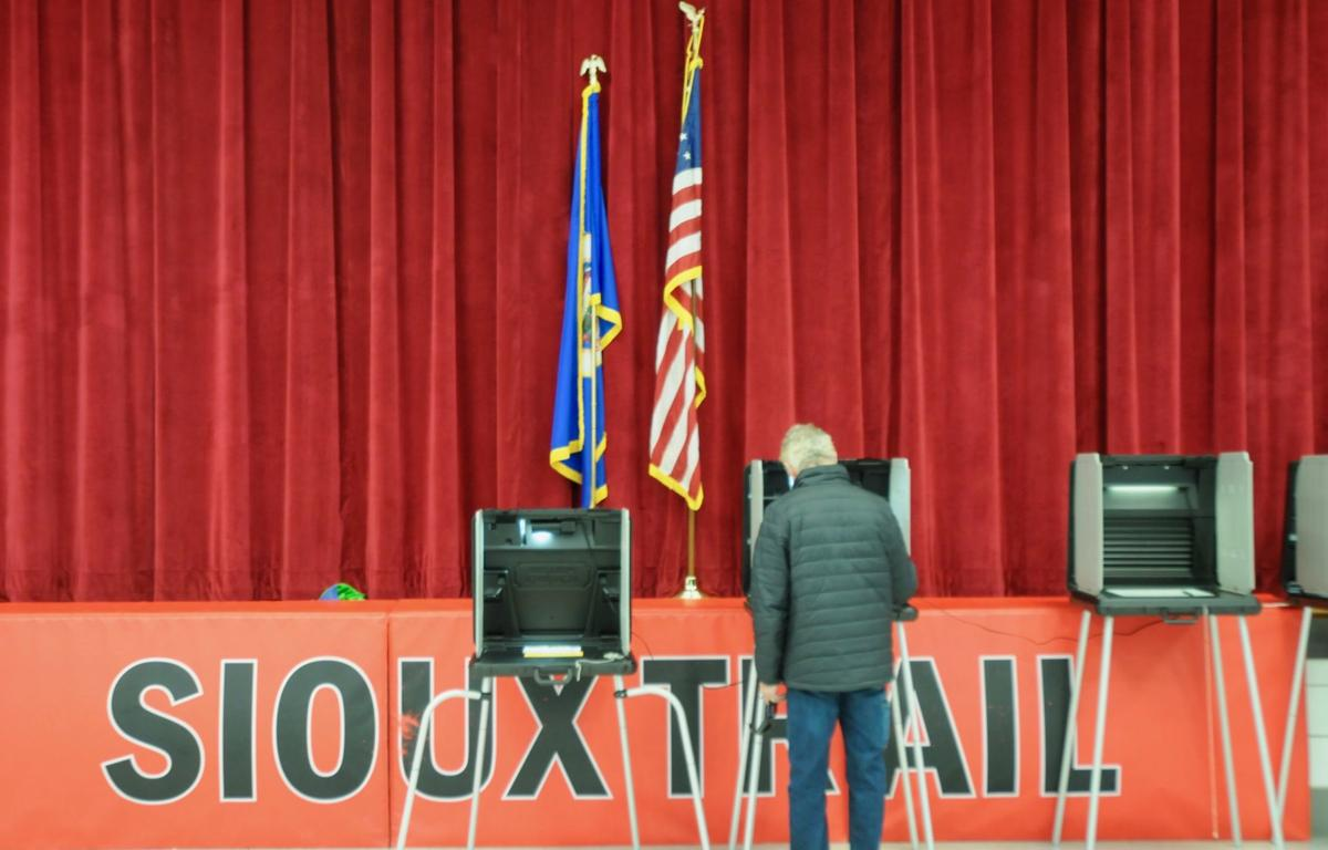 Sioux Trail voter