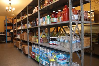 Jordan food shelf interior