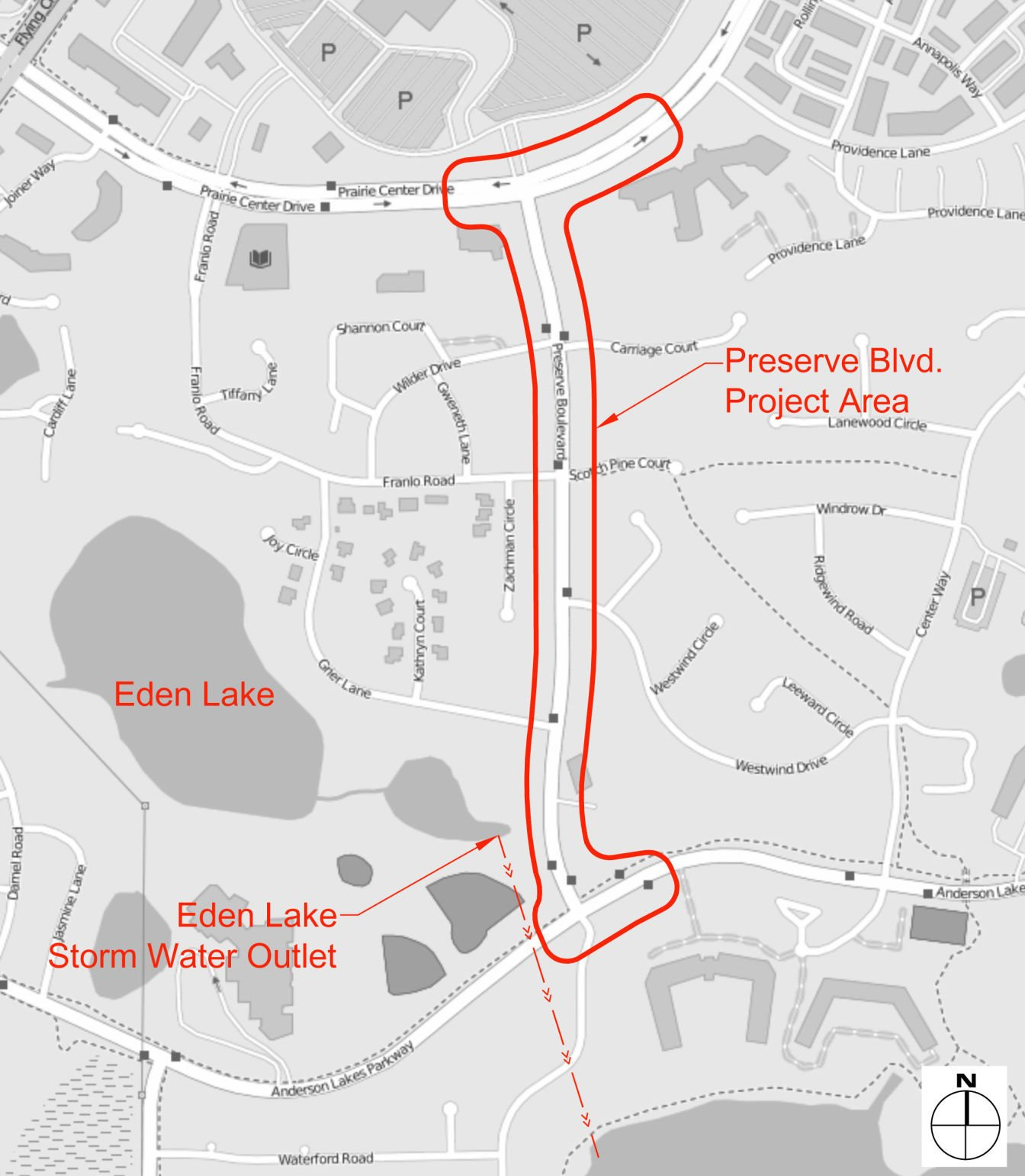 Changes are planned for Preserve Boulevard in Eden Prairie Heres