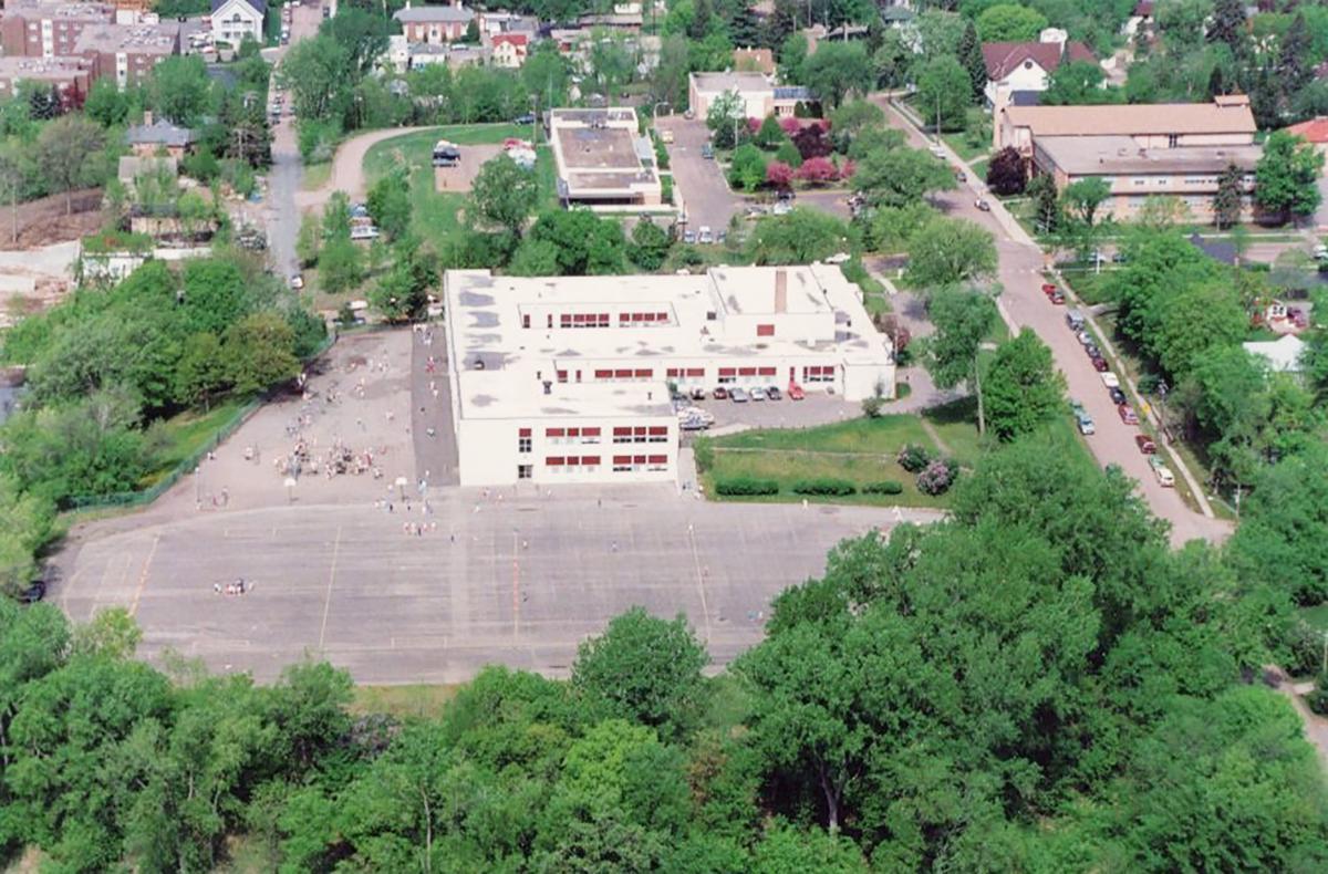 Widsten School aerial photo