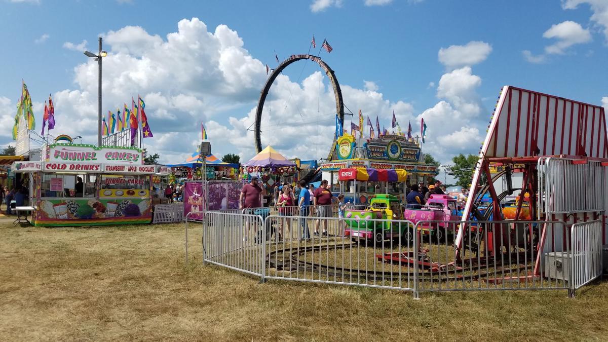 Scott County Fair midway